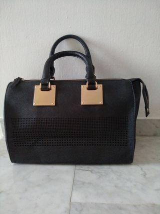 Black Colour Hangbag