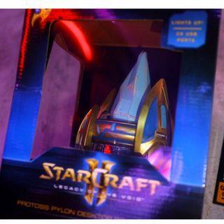 「Blizzard STARCRAFT II THINKGEEK 星海爭霸 神族 水晶塔 小夜燈 充電器 @公雞漢堡」