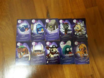 Book bug 2 cards non shinny