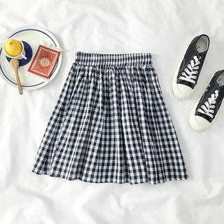 BRAND NEW Checkered Skirt