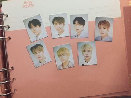 BTS ID PHOTO SG 2019