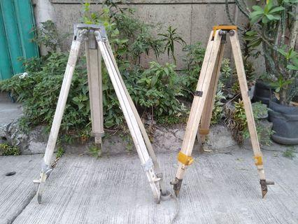 Vintage auto level tripod engineering surveying instruments construction
