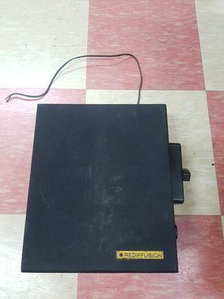 Vintage Rediffusion Speaker