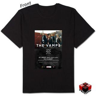 🚚 THE VAMPS LIVE IN SINGAPORE PRINTED TSHIRT