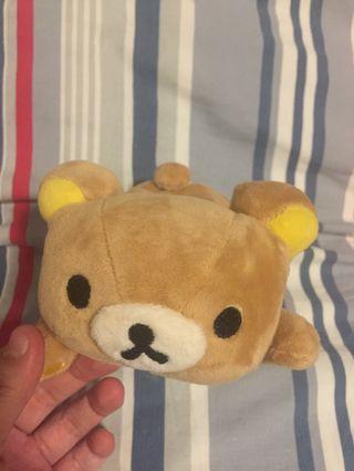 Rilakkuma 鬆弛熊 公仔 octopus/card holder
