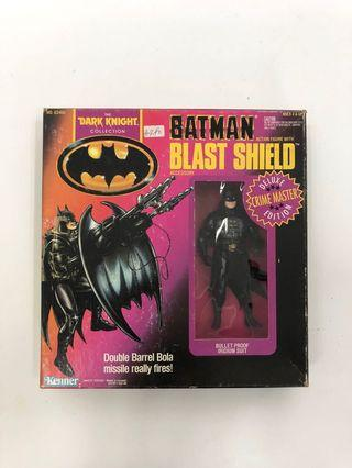 Kenner Batman Dark Knight Blast Shield Deluxe Edition 蝙蝠俠 絕版