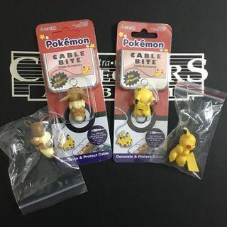 Pokemon Pikachu Eevee Cable Bite