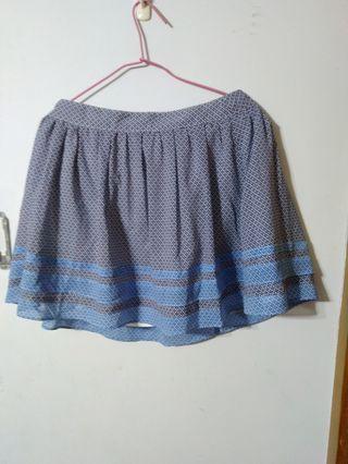 🚚 藍色裙子