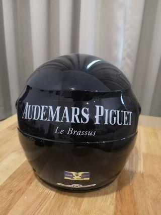 Helmet, used once for Official AP go-kart event