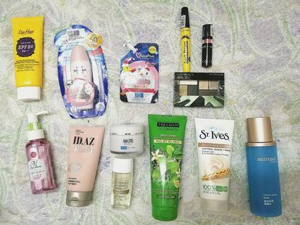 Skincare & Makeup Products