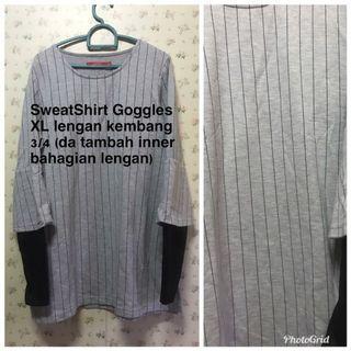 SWEATSHIRT GOGGLES XL