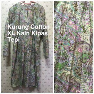 Baju Kurung Cotton XL