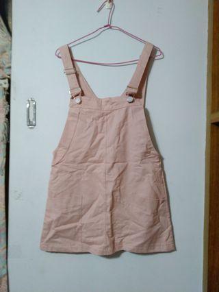 🚚 粉紅吊帶裙