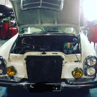 Gearbox repair vintage car servicing