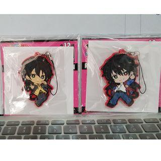 Hypnosis Microphone Rubber Straps