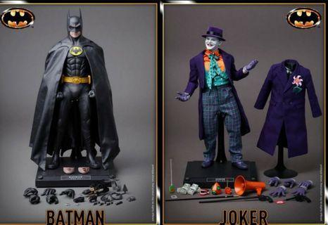 Hot Toys 1989 Batman and Joker