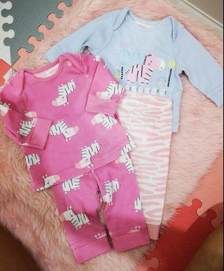 Mothercare set newborn up to 1 month