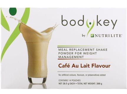 BodyKey by NUTRILITE Meal Replacement Shake (Café Au Lait)