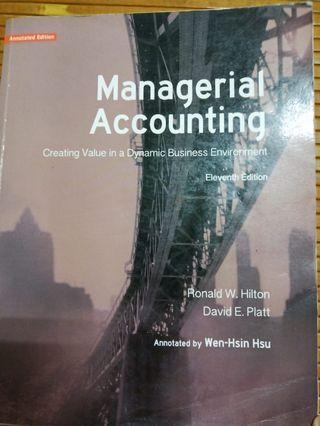 🚚 Managerial Accounting