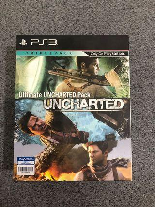 Uncharted Pack PS3