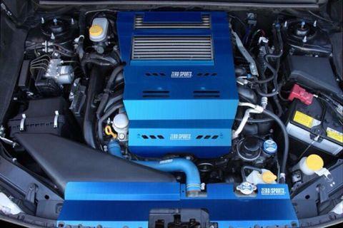 {極新} zero sports 進氣導風蓋板 適用 WRX LEVORG sti Perrin 中冷 引擎蓋板
