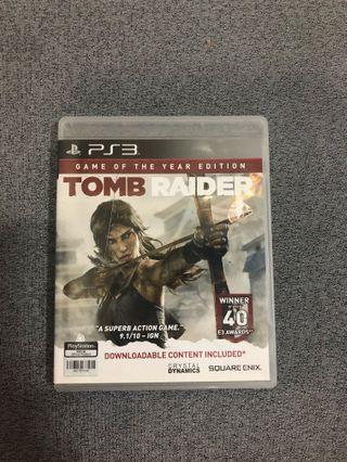 Tomb Raider PS3 (Game of the year edition)
