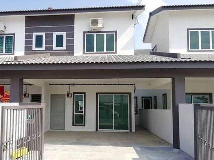 [Freehold 0% D/P] 2 Storey Link House 20x70 nearby Dengkil