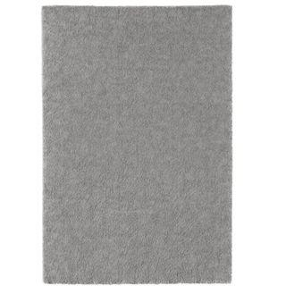 Rug, low pile, medium grey, 133x195 cm (IKEA)