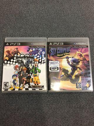Sly Cooper & Kingdom Hearts PS3 (Bundle)