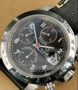 Tudor 79280 Tiger Prince Date 全鋼自動上弦計時日曆手錶