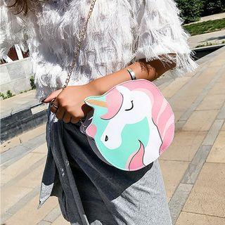 Unicorn Round Sling Bag