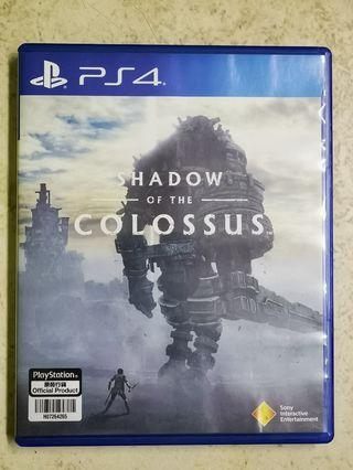 Shadow of the Colossus PS4 Games