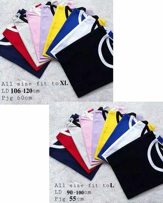 Ringer tee All size fit to L