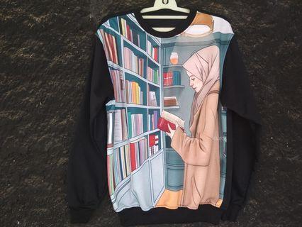 Sweater crewneck full print