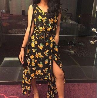 Floral wrap Dress #CarousellxCasetify