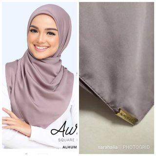 Square scarf by Alhumaira