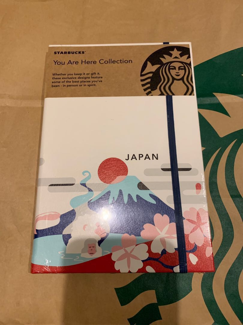 2019 Spring Japan Starbucks Yah You Are Here Journal Books