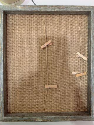 Craft Board Bulletin Board Cork Board with Pins