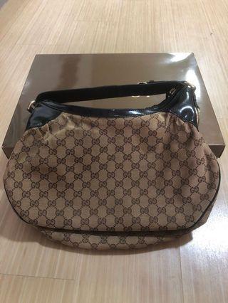 🚚 GG Gucci Hologram Borsa Full Moon Hobo Handbag