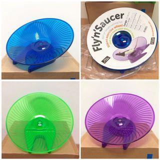 Small 'N' Furry Syrian Hamster UFO 30cm Running Wheel Saucer