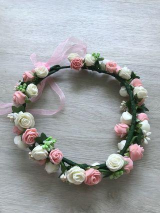 🚚 Flower Headband for Wedding
