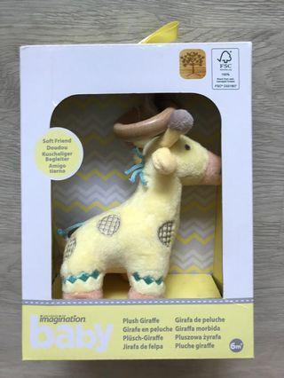 🚚 Plush Giraffe