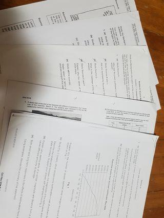 🚚 Nan Hua Revision Papers