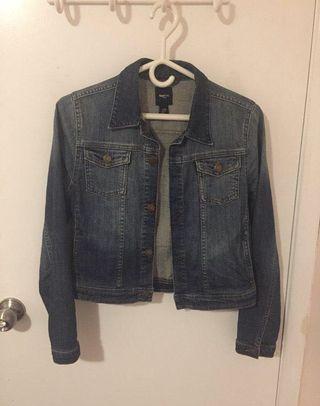 Cropped Gap Denim Jacket