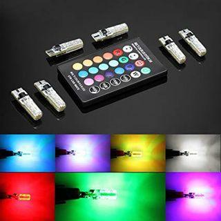 T10 remote control led light bulbs