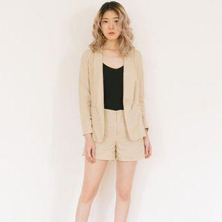 NEW khaki blazer set