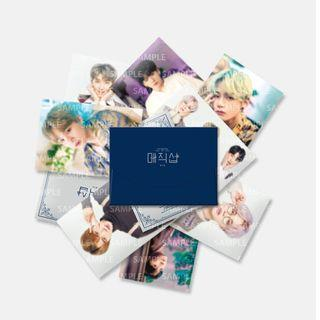 [SHARE] 5th Muster mini photocard and guesbook card set