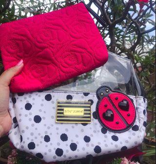 Clearance ~ Betsey Johnson 2 in 1 lady bird