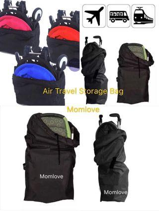 Ready Stock ! Brand New Air Travel Bag Baby Umbrella Lightweight Stroller/Pram Storage For Childcare Travelling Check In Aeroplane Carrier Check In Storage Bag Holiday Air Use Anti Dust