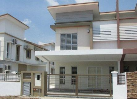 [Loan Rejected Unit!!!!] 20x65 Freehold Double Storey,Seremban